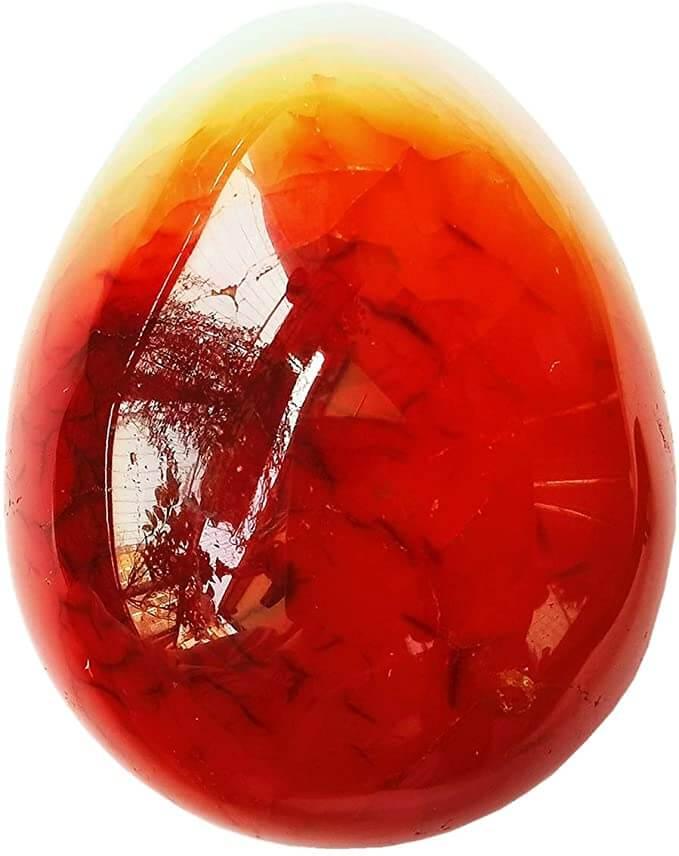 Carnelian gemstone