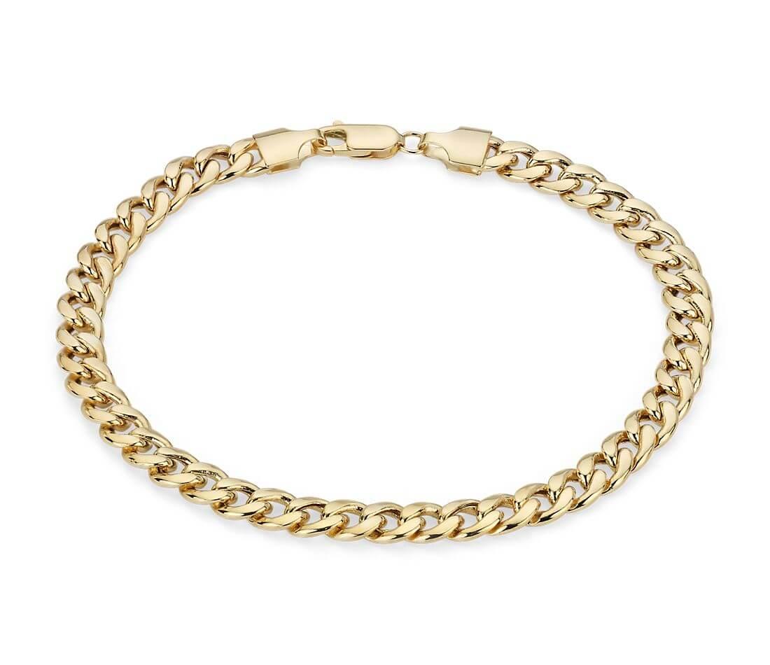 mens-bracelet-gold-blue-nile