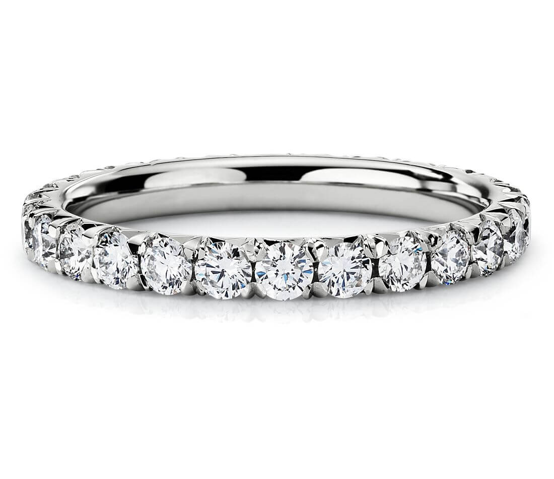 Pave setting ring