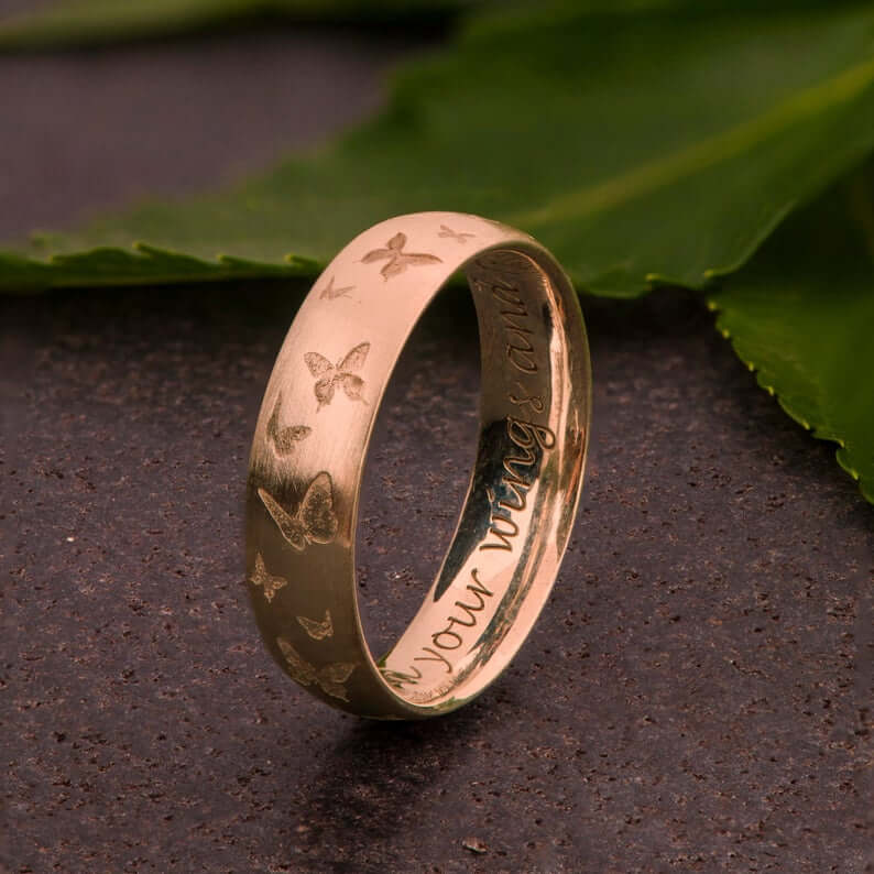 Personalized engraved band