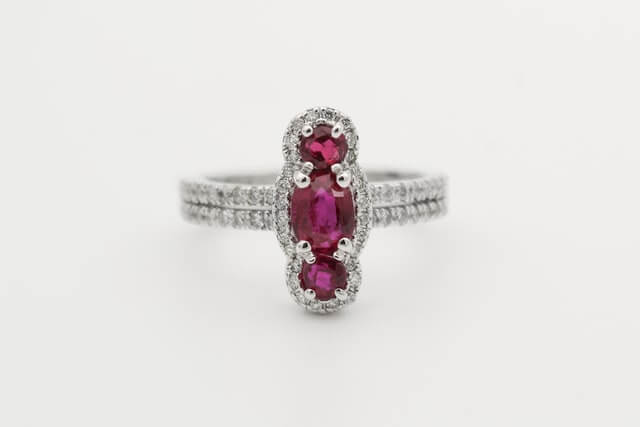 ruby ring vintage antique