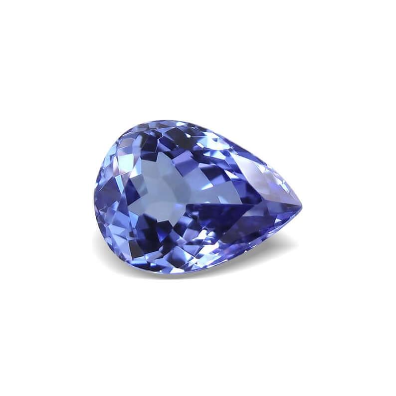 Blue tanzanite