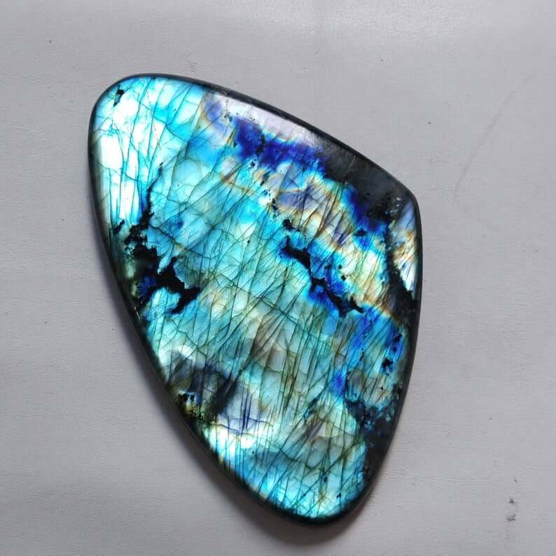 Blue Labradorite gemstone