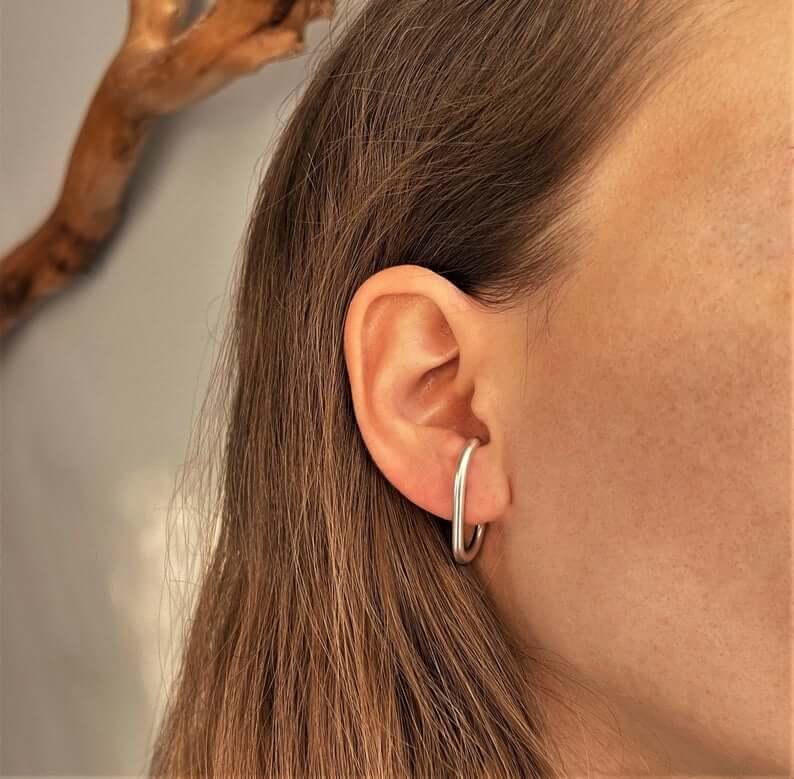Cuff earrings