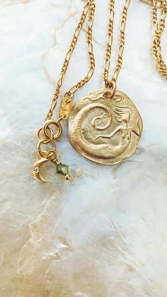 Gold vermeil jewelry