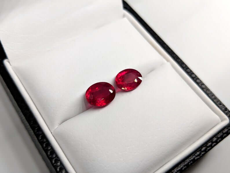 Pigeon blood red ruby