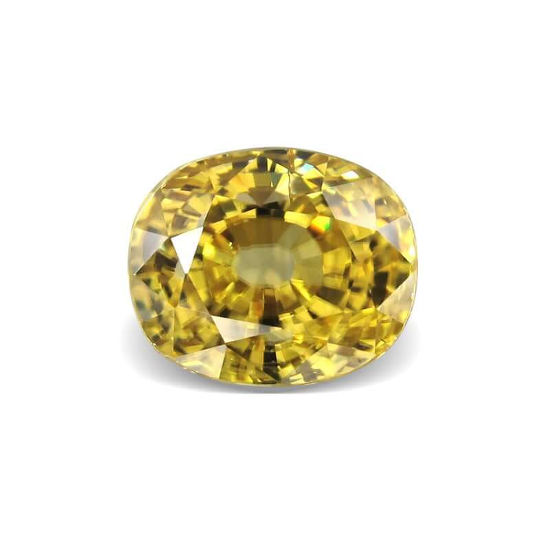 Yellow African zircon