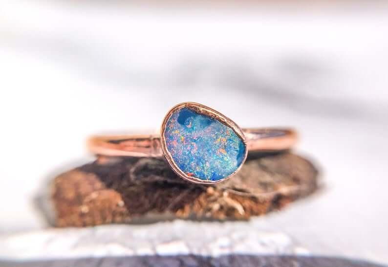australian-opal-doublet-ring-etsy