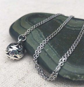 Bali silver pendant