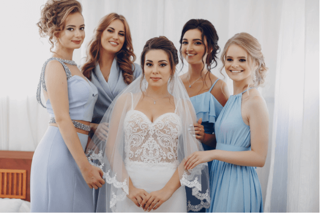 Bridesmaids mismatched