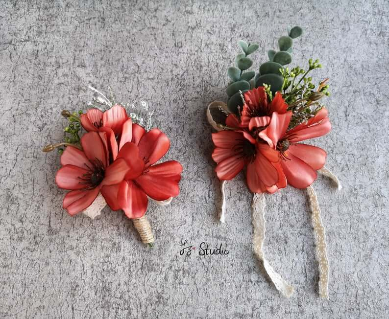 Chrysanthemum corsages