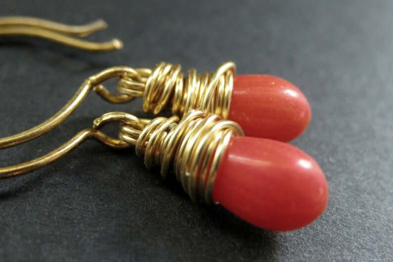 coral-and-gold-earrings-etsy