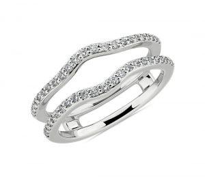 Curved diamond guard