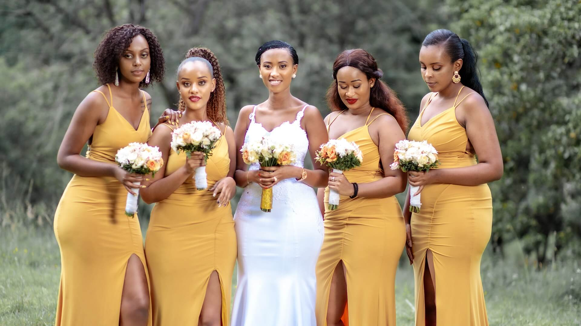 Dresses to suit body shape