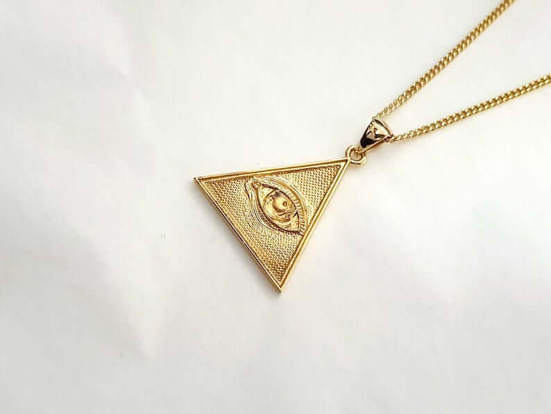 Eye of providence pendant