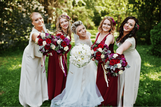 Focus shifts from bride