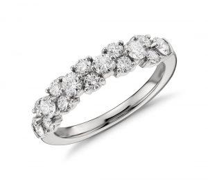 Garland diamond ring