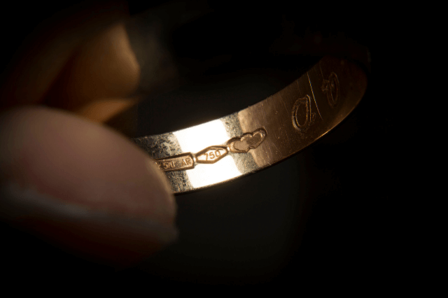 Hallmark on ring