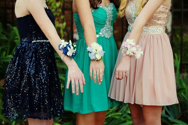 History of corsage