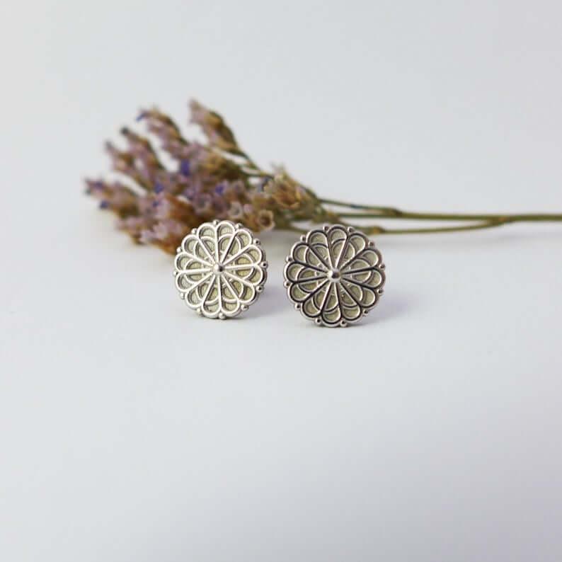 mandala-stud-earrings-etsy