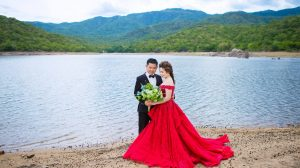Meaning behind wearing a red wedding dress
