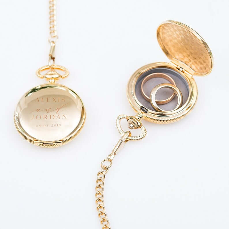 Pocket watch ring holder