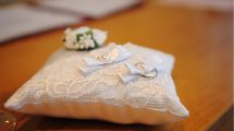 Ring bearer pillow guide