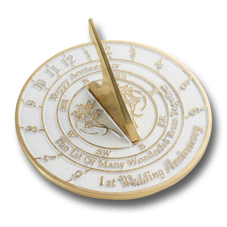 Sundial anniversary gift