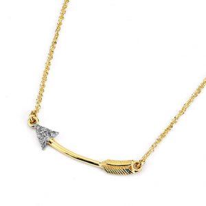 The arrow pendant