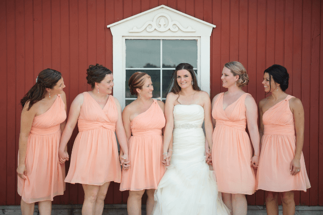Tips on doing mismatched bridesmaids dresses
