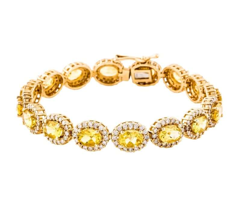 Yellow gold heliodor