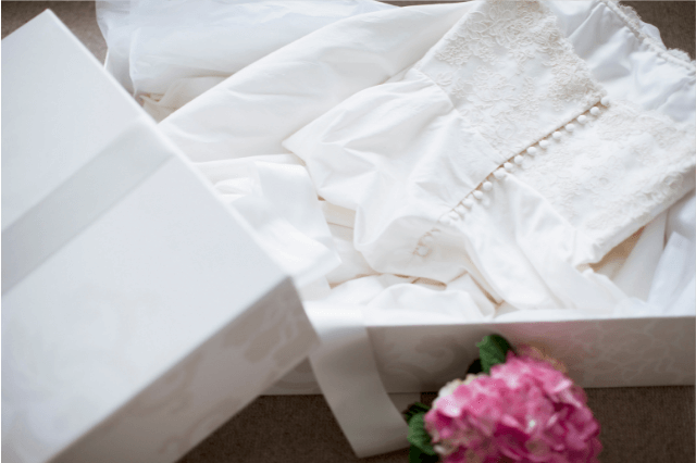 Donating wedding dress to charity