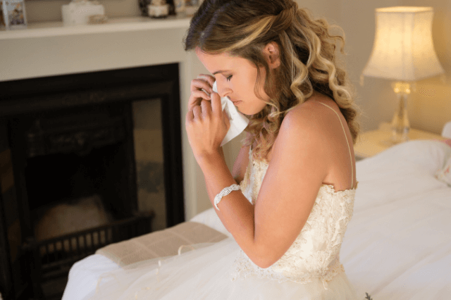 Letting go of your wedding dress