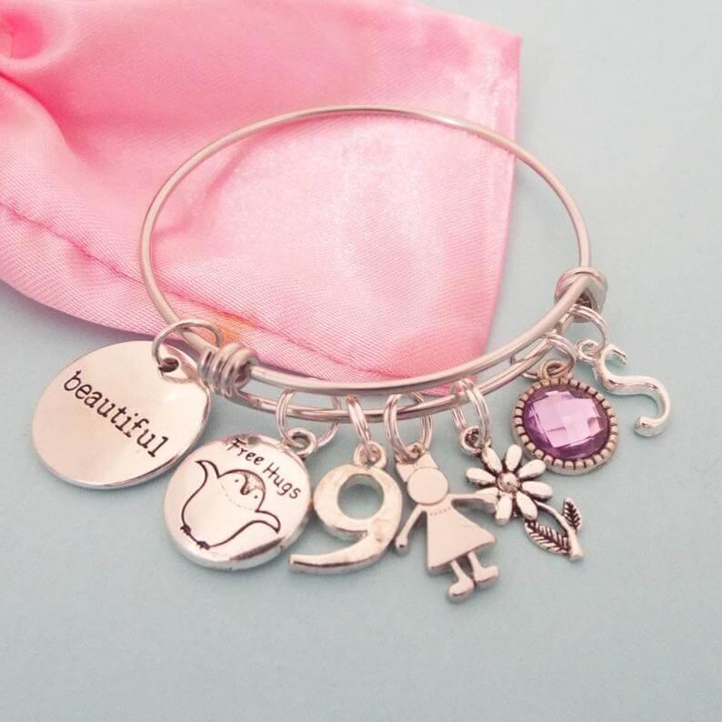 personalized-charm-bracelet-etsy