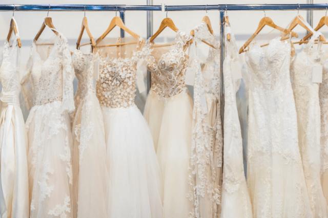 Types of wedding dress fabrics