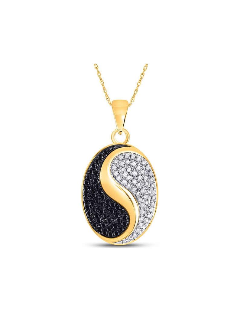 Ying and yang pendant
