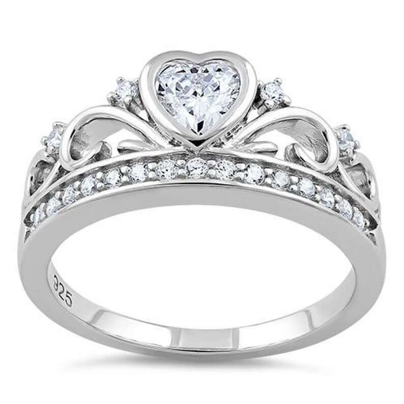 Crown ring for sweet sixteen birthday
