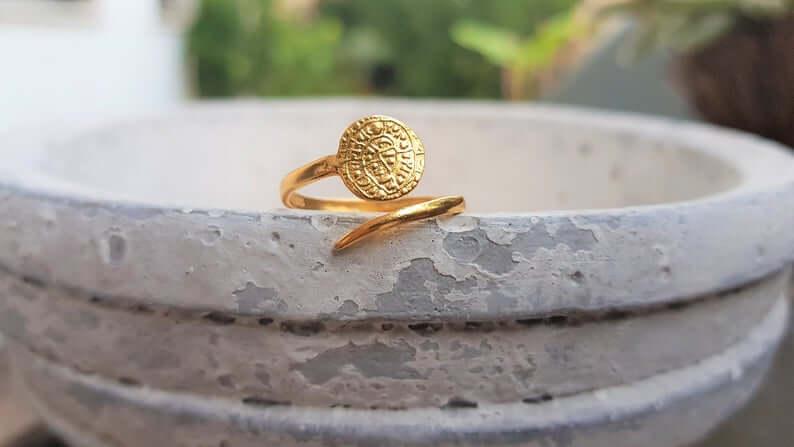 Phaistos disk ring