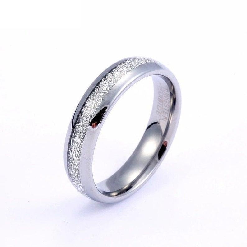 women's meteorite ring